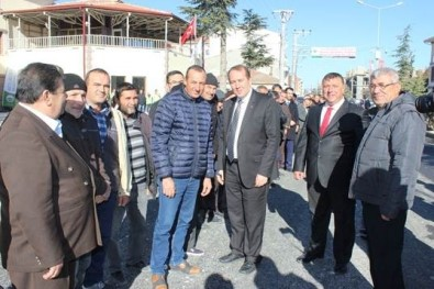 Milletvekili Karacan Beylikova'da