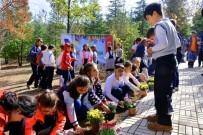 İKİNCİ ÖĞRETİM - Minik Eller Okul Bahçelerini Çiçeklendirdi