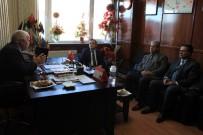 MEHMET ERDEM - Rektör Kızılay'dan MHP İl Başkanı Erdem'e Ziyaret