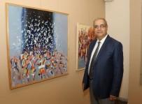 TOPLUMSAL OLAYLAR - Ressam Bazencir, 8'İnci Kişisel Sergisini MTSO Galerisi'nde Açtı