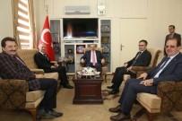 SELÇUK COŞKUN - TDK Başkanı Mustafa Sinan Kaçalin'den, Vali İsmail Ustaoğlu'na Ziyaret