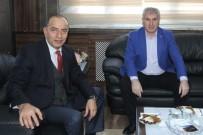 Yeni Emniyet Müdürü Er'den Başkan Memiş'e Ziyaret