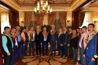 İRFAN TATLıOĞLU - Yörüklerden Antalya Protokolüne Ziyaret