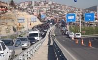 HASAN BASRI GÜZELOĞLU - Bakan Işık Ve Arslan, Eynerce Köprülü Kavşağının Açılışını Yaptı