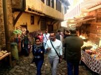 GÖZLEME - Camızlık'a Turist Akını