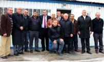 TAŞDELEN - Çankaya Belediye Başkanı Taşdelen, Taksi Ve Dolmuş Duraklarında Çalışan Esnafın Sorunlarını Dinledi