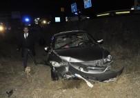 Düğün Dönüşü Kaza Açıklaması 5 Yaralı