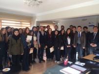 MURAT ÖZTÜRK - Geleceğin Muhasebecilerinden 'Hayırlı Olsun' Ziyareti