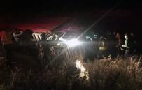 Güllük Liman Yolunda Kaza; 1 Yaralı