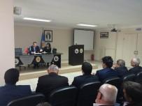 TAMER ORHAN - Hayrabolu'da Eğitim Ve Halk Güvenlik Toplantısı