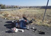 Niğde'de Motosiklet Kazası Açıklaması 1 Yaralı