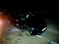 MAKAM ARACI - AK Parti Konya İl Başkanı Kaza Geçirdi Açıklaması 1 Yaralı