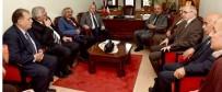 OVİT TÜNELİ - Başkan Sekmen'den ERVAK'a Ziyaret