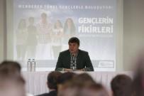 MENDERES TÜREL - Başkan Türel'den, Gençlere Yüzme Havuzu Müjdesi