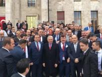 VURAL KAVUNCU - Cevdet Korkmaz Ve Mahalle Başkanları Ankara'da
