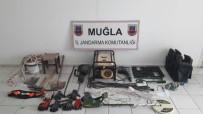 Milas'ta Kaçak Kazıcılar Tutuklandı