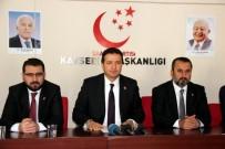 TEMEL KARAMOLLAOĞLU - Saadet Partisi Kayseri İl Başkanı Mahmut Arıkan Açıklaması