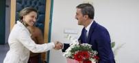 MUSTAFA AYDıN - Turgutlu'da Eğitimcilerden Başkan Şirin'e Hizmet Teşekkürü