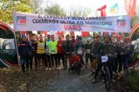 ÇEKMEKÖY BELEDİYESİ - 6. Çekmeköy Uluslararası Kış Maratonu Başladı