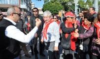 MUSTAFA AKAYDıN - Antalya'da CHP'lilerden 'Yasa Tasarısı' Protestosu