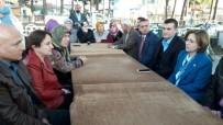 SÜRGÜN - Aydın MHP Yurtlarından Sürgün Edilen Ahıska Türklerini Ziyaret Etti