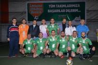 CENTİLMENLİK - Belediye Birimleri Arası Futbol Turnuvası Başladı