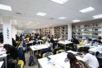 MERYEM ANA - Büyükşehir Belediyesi Tarafından 3 Kasım'da Açılışı Yapılan Kütüphane Dolup Taşıyor