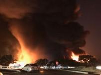 İTFAİYE ERİ - 10 dönümlük fabrika yandı