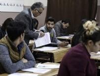 KAMU PERSONELI SEÇME SıNAVı - KPSS ortaöğretim oturumu yapıldı