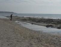 YENIÇIFTLIK - Tekirdağ'da deniz 15 metre çekildi