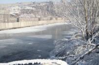 SIBIRYA - Ardahan'da bütün hayat buz tuttu