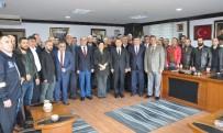 TÜRK METAL SENDIKASı - Başkan Uysal, Erdemir İşçisine Destek Verdi