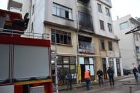 HAMDIBEY - Biga'da İkamet Yangını