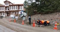 Çankırı Belediyesi Bozulan Yol Ve Kaldırımlar Yenileniyor