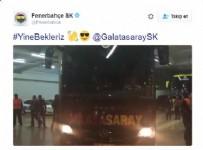 Fenerbahçe'den Galatasaray'a yine bekleriz tweeti