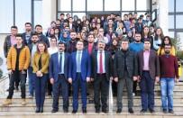 SÜLEYMAN SOYLU - Genç Ziraatçılardan KTB'ye Ziyaret