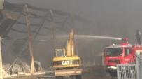 HASAR TESPİT - İzmir'deki Yangın Dehşetinin Bilançosu Hava Aydınlanınca Ortaya Çıktı