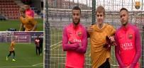 JUSTİN BİEBER - Justin Bieber Barca Antrenmanında Açıklaması Futbolda Da İyiymiş !