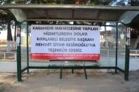 KARAHıDıR - Karahıdır Mahalle Sakinlerinden Kesimoğlu'na Teşekkür
