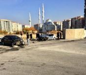 KAYAHAN - Kavşakta Zincirleme Kaza Açıklaması 3 Yaralı