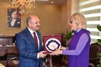 ÖZDEMİR ÇAKACAK - Portekiz'in Ankara Büyükelçisi Silva Mersin'de