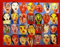 RESİM HEYKEL MÜZESİ - SANKO Sanat Galerisinde Orhan Kurmalı'nın Sergisi