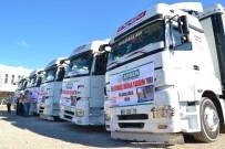 MAZLUM - Suriye'ye 12 Yardım TIR'ı Gönderildi