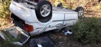 Tavşanlı-Emet Karayolu'nda Trafik Kazası Açıklaması 1 Yaralı