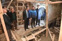 HARABE - Ünye Saray Hamamı Restorasyonu Sürüyor
