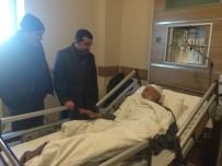 KAFKAS ÜNİVERSİTESİ - AK Parti İl Başkanı Çalkın'dan Hasta Ziyareti!