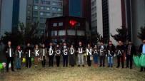 LÖSEMİ HASTASI - AK Parti'li Gençlerden Lösemi Hastası Afra'ya Doğum Günü Sürprizi