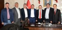 SERDENGEÇTI - AK Partili Vekillerden Başkan Koçak'a Ziyaret