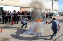 YANGIN TATBİKATI - AVM'de Yangın Tatbikatı