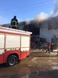 TIBBİ MALZEME - Babul Selam Sınır Kapısı'ndaki Hastanede Çıkan Yangın Söndürüldü